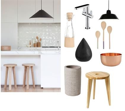Natural Kitchen by Elements at Home on Set That