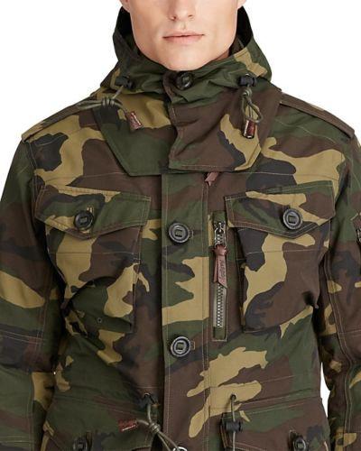 c178a1c53b5f8 Polo-Ralph-Lauren-Men-Military-Army-Camo-Utility-Paratrooper-Combat-Rain- Jacket