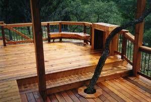 Custom Cedar Deck #20; 500x339; 159 kb
