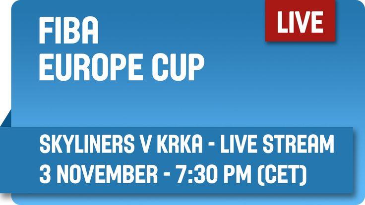Fraport Skyliners (GER) v KRKA (SLO) - Live Stream - Group G - FIBA Euro...