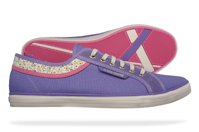 Le Coq Sportif Honfleur Liberty Womens Trainers / Shoes - Purple