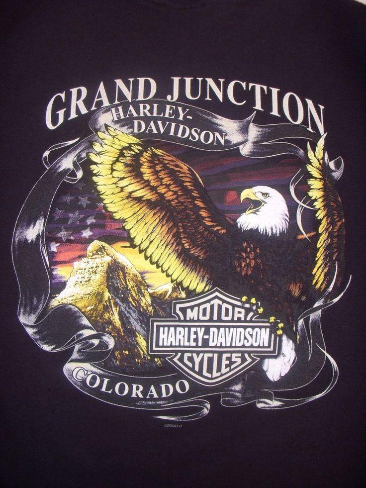 HARLEY DAVIDSON T SHIRT Grand Junction Colorado M #HarleyDavidson #GraphicTee