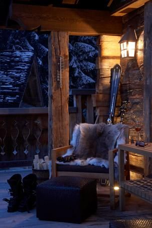 Cozy Night At The Cabin
