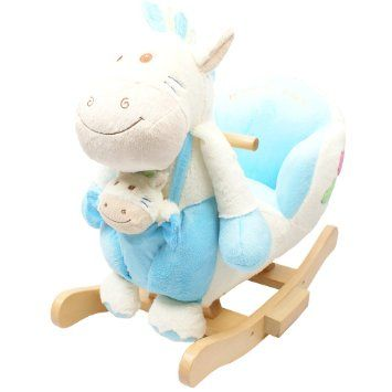 Rocking Animal - White Sheep Animal Rocker for Baby Childrens boys girls with sounds and Baby Sheep: *Now Half Price at £39.99  Amazon.co.uk: Baby