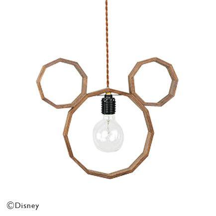 【Disney×unico】 MICKEY ペンダントライト