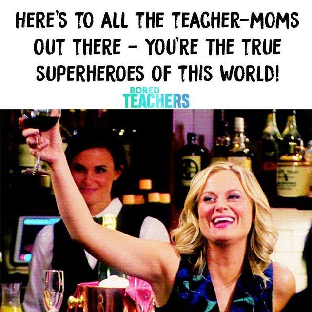 Happy Mother S Day Bored Teachers Happy Teachers Day Teacher Humor