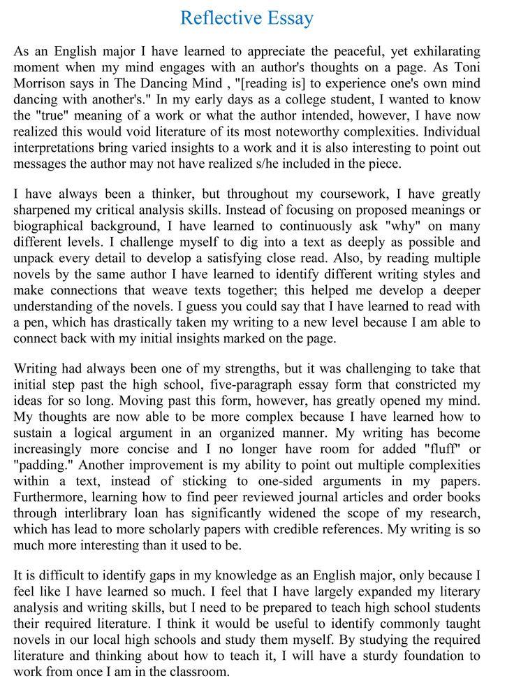 interview essays examples