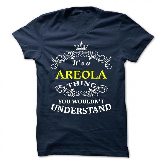 I love it AREOLA Tshirt blood runs though my veins