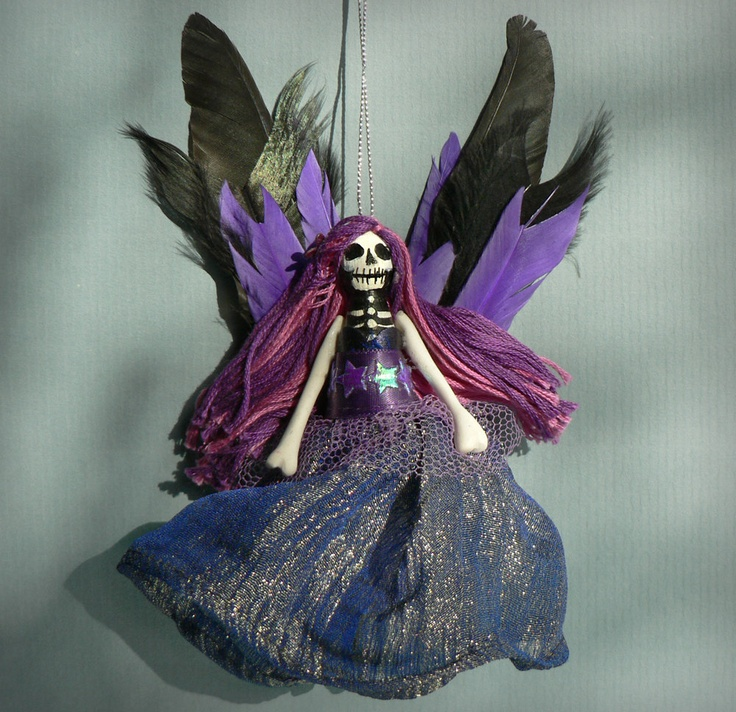 Christmas Fairy Decorations: 36 Best GOTHIC CHRISTMAS TREE Images On Pinterest