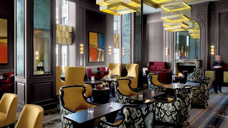 Best New Hotel, London, UK, Corinthia Hotel, Entrance lobby - hotel appartements luxuriose einrichtung hard rock hotel las vegas