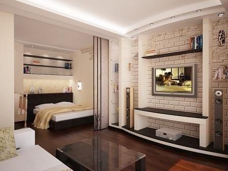18 идей дизайна для маленьких квартир - Сундук идей для вашего дома - интерьеры, дома, дизайнерские вещи для дома