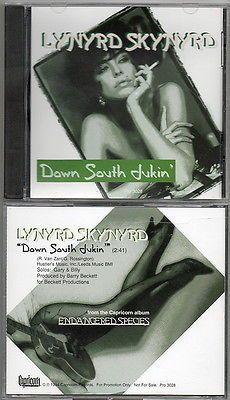 LYNYRD SKYNYRD Down South Jukin PROMO CD Single NEW Gary Rossington Billy Powell