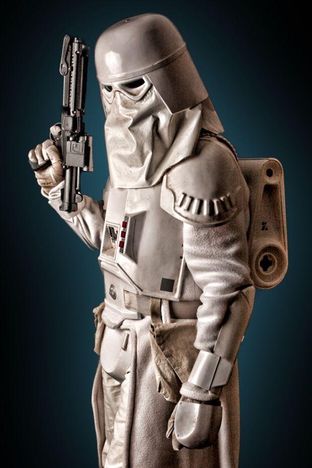 Star Wars - Snow Trooper. Camuflaje para la nieve.