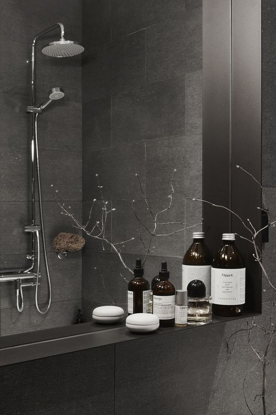 Best 25+ Dark grey bathrooms ideas on Pinterest | Bathroom ...