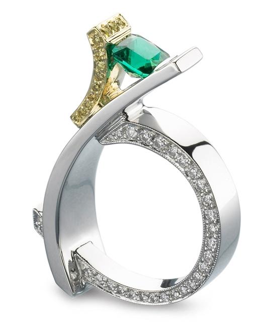 手机壳定制shoes for sale in stockton ca Elite Emerald Ring  Mark Schneider Design
