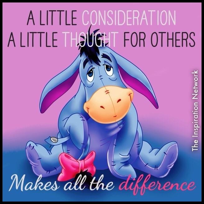 Eeyore Quotes A Little Consideration | www.imgkid.com ... Disney Quotes Eeyore
