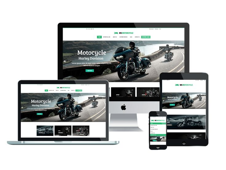 WS Motorcycle is free responsive MotorBike WooCommerce WordPress theme designed especially for motor store. This is attractive template to showcase and promote the motor brands, also, provide detailed information about its styles and prices. Moreover, help customers easily buy your products for delivery through online ordering systems and payment methods. WS Motorcycle is fully responsive template that adapts to the screen resolution of all mobile devices – smartphones, tablets and desktops…