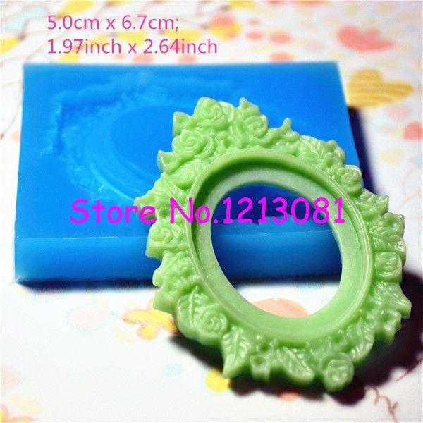 Oyl002 ornamentado do quadro definir Silicone empurre Mold   jóias, Encantos ( argila Fimo fundição de resina Wax Gum Paste Fondant ) em   de   no AliExpress.com   Alibaba Group