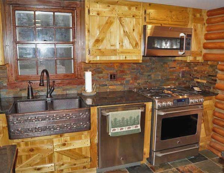 Rustic Cabin Kitchen Renovation Cabin Life Magazine
