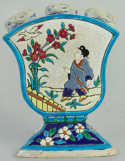 French Chinoiserie - Longwy