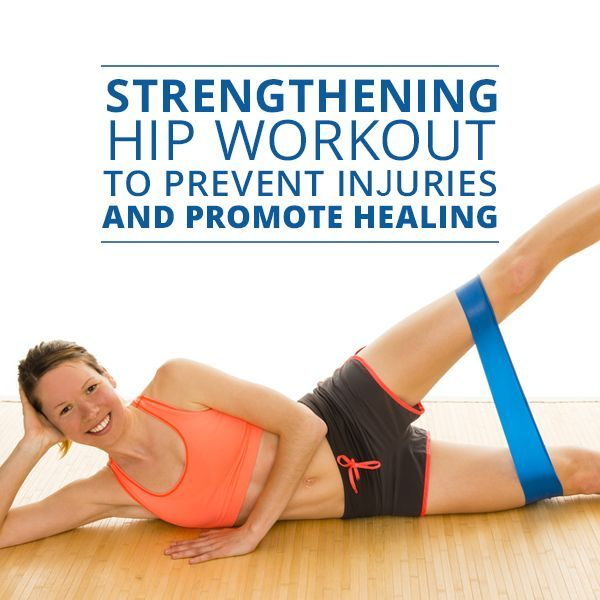 Strengthening Hip Workout to Prevent Injuries and Promote Healing #hipworkout