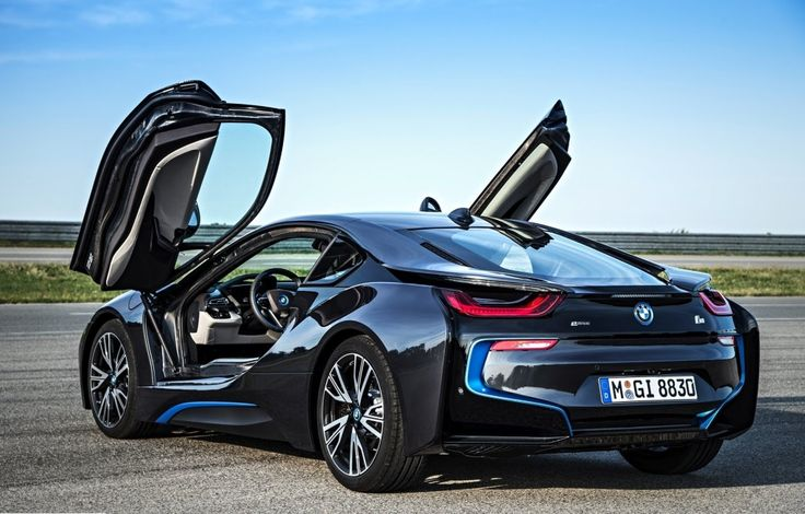 2014 Bmw i8-Open Doors | BMW | i Series | dream car | Bimmer | concept car | car photography | Schomp BMW