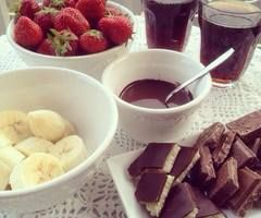 chocolate and fruits