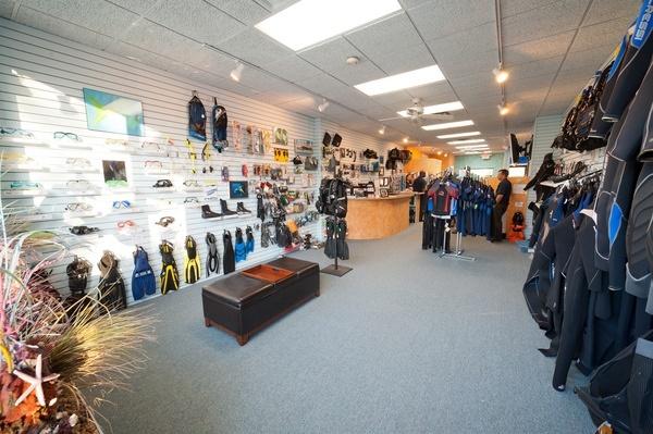 Scuba diving store project short hills nj my interior for The dive shop