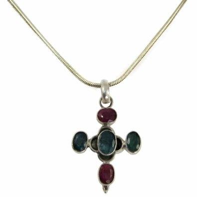 Lockets for Women Silver Multi Gemstone Jewelry: Jewelry: Amazon.com