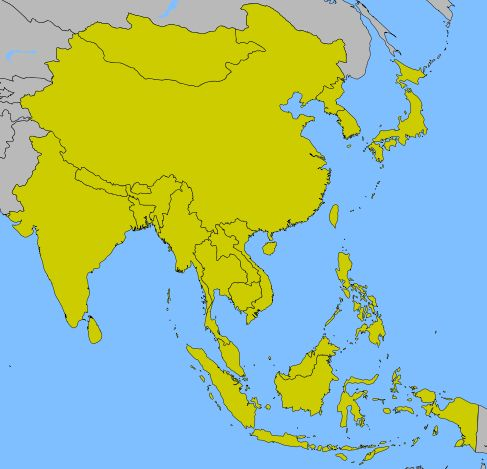 East Asia Map Quiz Home Education Pinterest Asia Asia ma