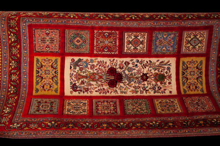 Persian bakhtiari carpet kilim by persiansouvenir on Etsy