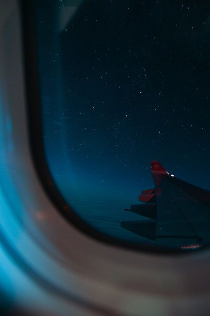 Whenever I fly to South Africa, looking at the stars at night is my favorite part. Always. <3