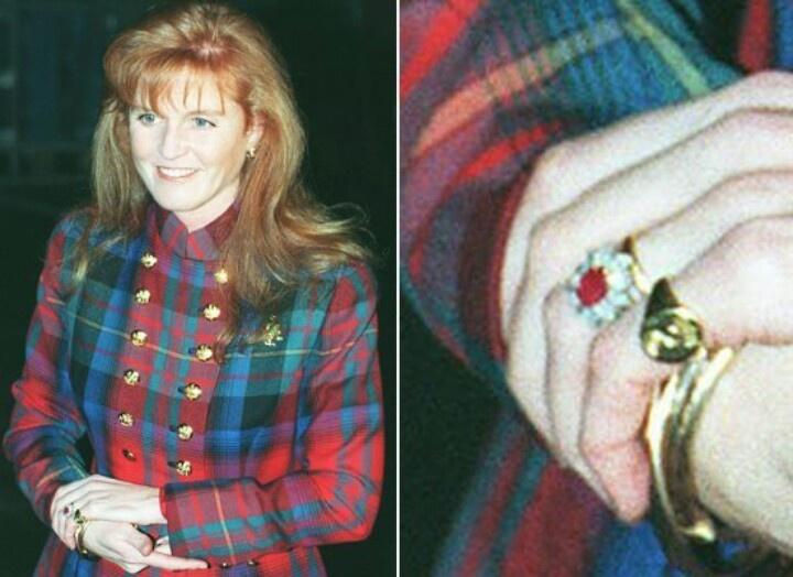 Sarah Ferguson engagement ring | British Royalty | Pinterest