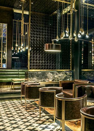LUXURY RESTAURANTS | The Temple House | AvroKo | A Design and Concept Firm | www.bocadolobo.com | #toprestaurants