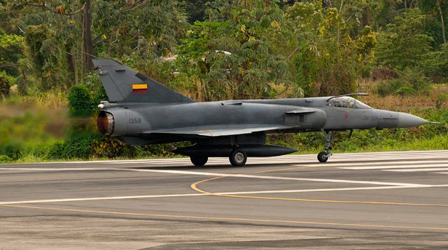 Cheetah is a third-generation fighter in more than one way, with its development path having run from the Dassault Mirage III to the Israel Aircraft Industries Kfir and then on to its evolution by South African firm Atlas. Today, Ecuador has the unique distinction of being the only nation to operate both the Cheetah – pictured here in its single-seat C variant – and Kfir, with a combined fleet of 22. Some 95 Mirage IIIs remain in service with the air forces of Argentina and Pakistan,