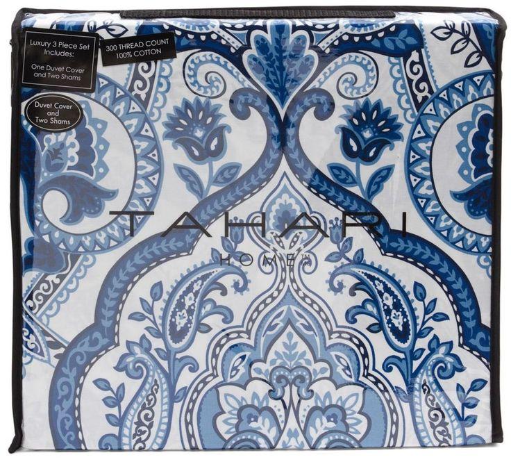 Tahari Home 3pc Duvet Cover Set Paisley Medallion Silver: 919 Best Bedding Images On Pinterest