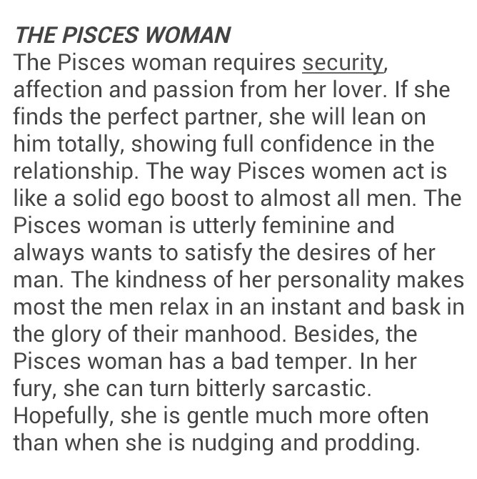 Ignoring a pisces woman