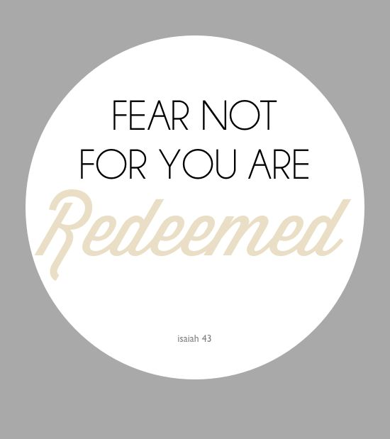 fear not.Sets Free, Blog Reading, Isaiah 43, Myquillyn Smith, Fear Not, Blog Post, Isiah, Jesus Overcame, Friend