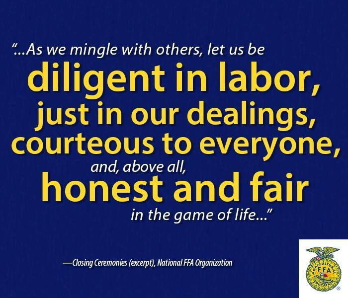 Some Educational Quotes: 1000+ Images About FFA Quotes On Pinterest