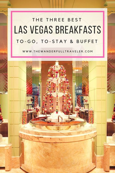 The top three Las Vegas breakfasts from Eggslut in the Cosmopolitan, Mon Ami Gabi at the Paris Hotel and the best legendary Buffet in Vegas!