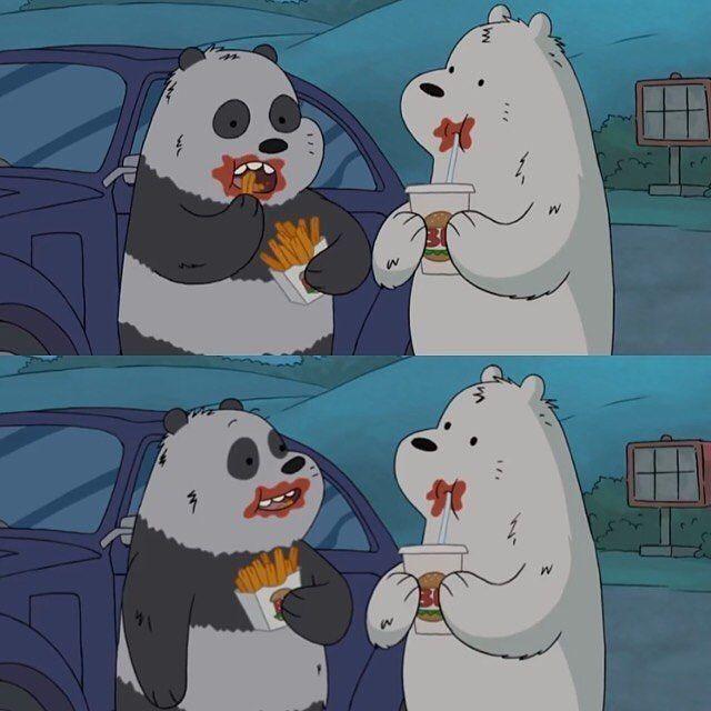 الدببه الثلاثة Baer We Bare Bears Bare Bears Bear Wallpaper