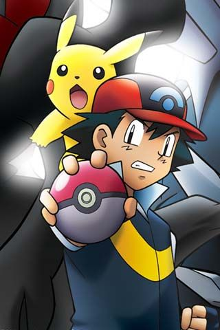 201 best go pokemon images on pinterest pikachu play - Ash and pikachu wallpaper ...