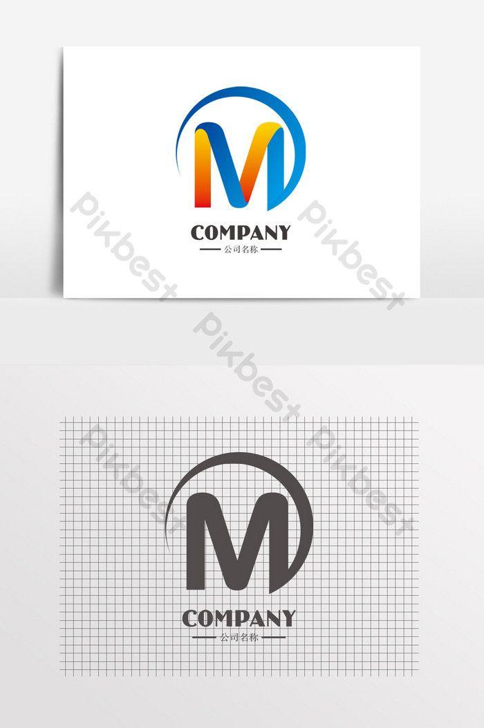 حرف م التعميم شعار تكنولوجيا التعليم Cdr تحميل مجاني Pikbest Graphic Wallpaper Lettering Technology Logo