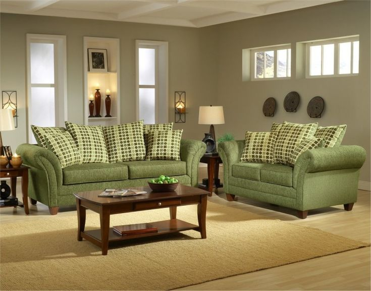Green Couch Living Room Decorating Ideas 2