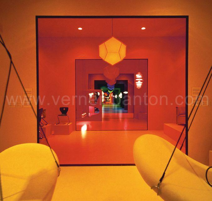 183 best Verner Panton images on Pinterest Danish design - designer kantine spiegel magazin