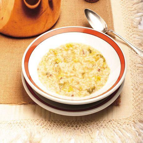 Ricetta Minestra di riso e verza con pancetta