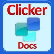 Clicker Docs app - develop pupils' writing skills.