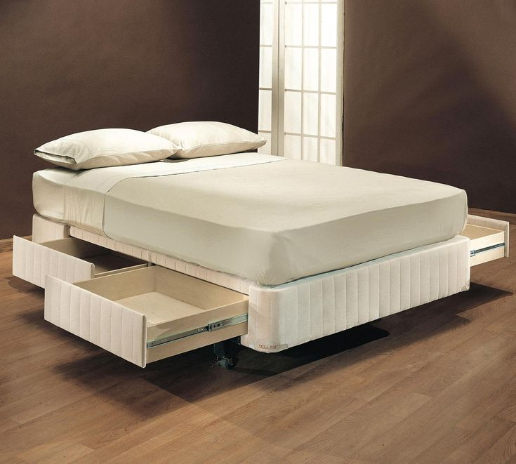 Sto-A-Way Bed Foundation - a boxspring with drawers! - 30 Best STOWAWAY BEDS Images On Pinterest 3/4 Beds, Guest Bed