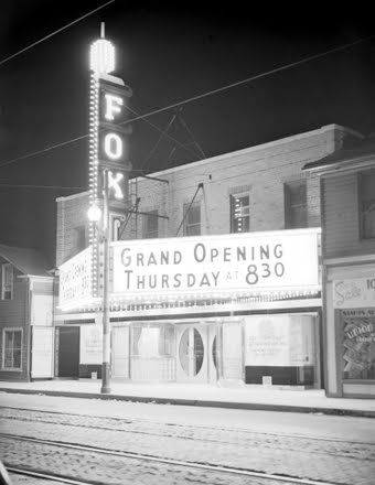 Fox Theatre, located in the east end of King Street in Kitchener.