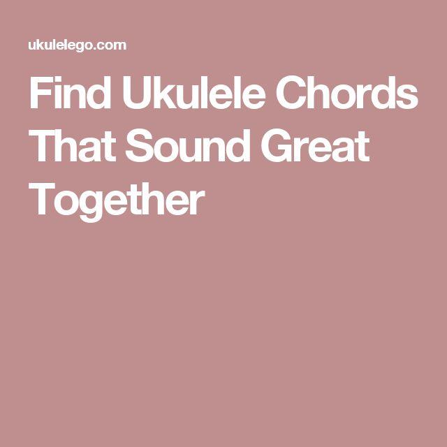 72 Best Ukulele Chords Images On Pinterest Guitars Sheet Music